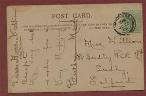 Miss-Williams-Seedley-Park-Road-Salford-Manchester-postcard-zd-249