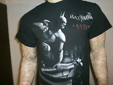 BATMAN ARKHAM CITY T SHIRT Dark Knight XBOX 360 PlayStation 3 Video Game LARGE