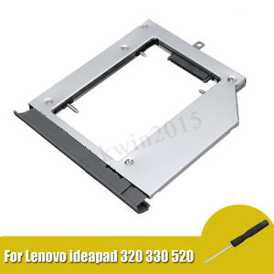 Optical-Hard-Drive-CD-Bay-Caddy-Case-For-Notebook-Lenovo-ideapad-320-330-520