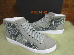 fa26571b556d2 Details about Vionic Women's Torri High Top Supportive Sneaker Natural Snake