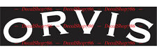 ORVIS Sporting Gears - Cars/SUV's/Trucks Vinyl Die-Cut Peel N' Stick Decals