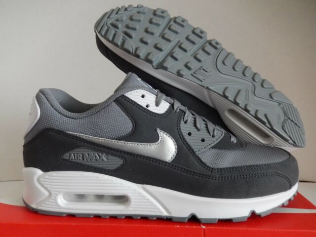 12bb17923083 Details about NIKE AIR MAX 90 ID GREY-GREY-WHITE-SILVER SZ 8.5