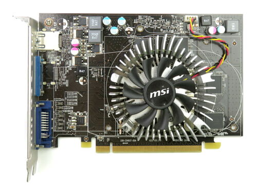 MSI AMD Radeon HD 6670 1GB GDDR5 PCIe Graphics Card HDMI//DVI-I//VGA