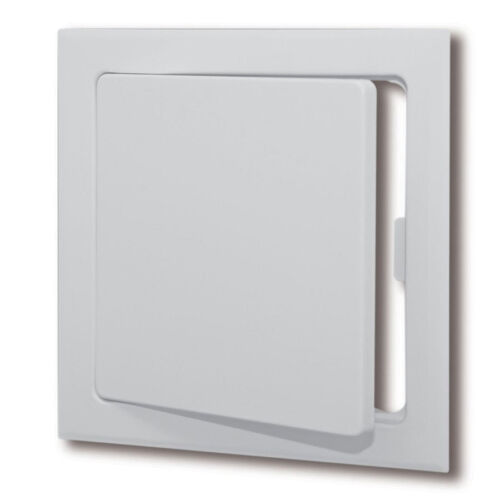 """Plastic Easy-Snap Wall or Ceiling Access Panel for 14/"""" x 14/"""" Opening"""