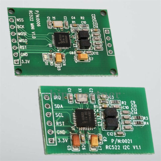 13.56MHz RFID Reader Writer Module SPI I2C Interface IC Card RF Sensor RC522