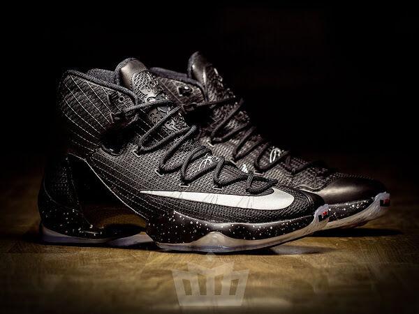 Nike Nike Nike lebron 13 xiii bereit zum kampf schwarz silber größe 13.831923-001 kyrie cavs 43f2f7