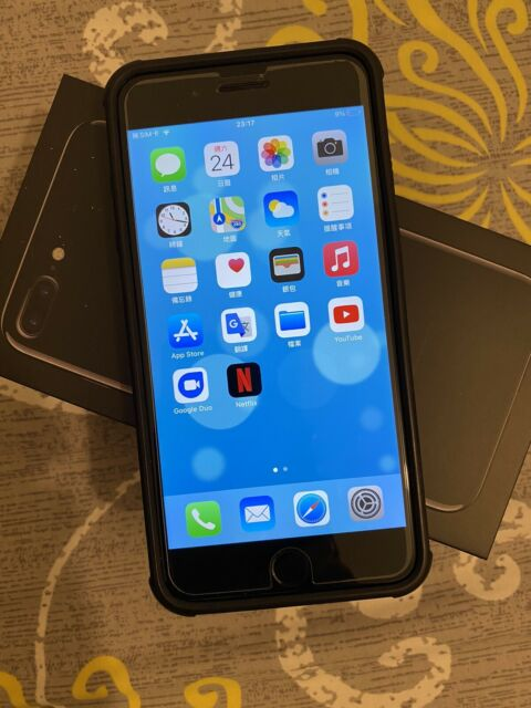 Apple iPhone 7 Plus + 128GB Unlocked Jet Black ***Free Shipping Worldwide