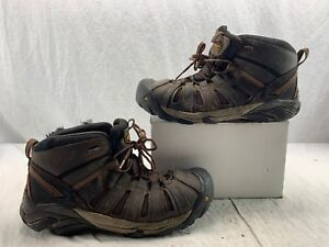 e066825674d Details about KEEN Utility 1007972 Men's Flint Mid/Steel Toe EH Work Boots  Brown size 13 EE