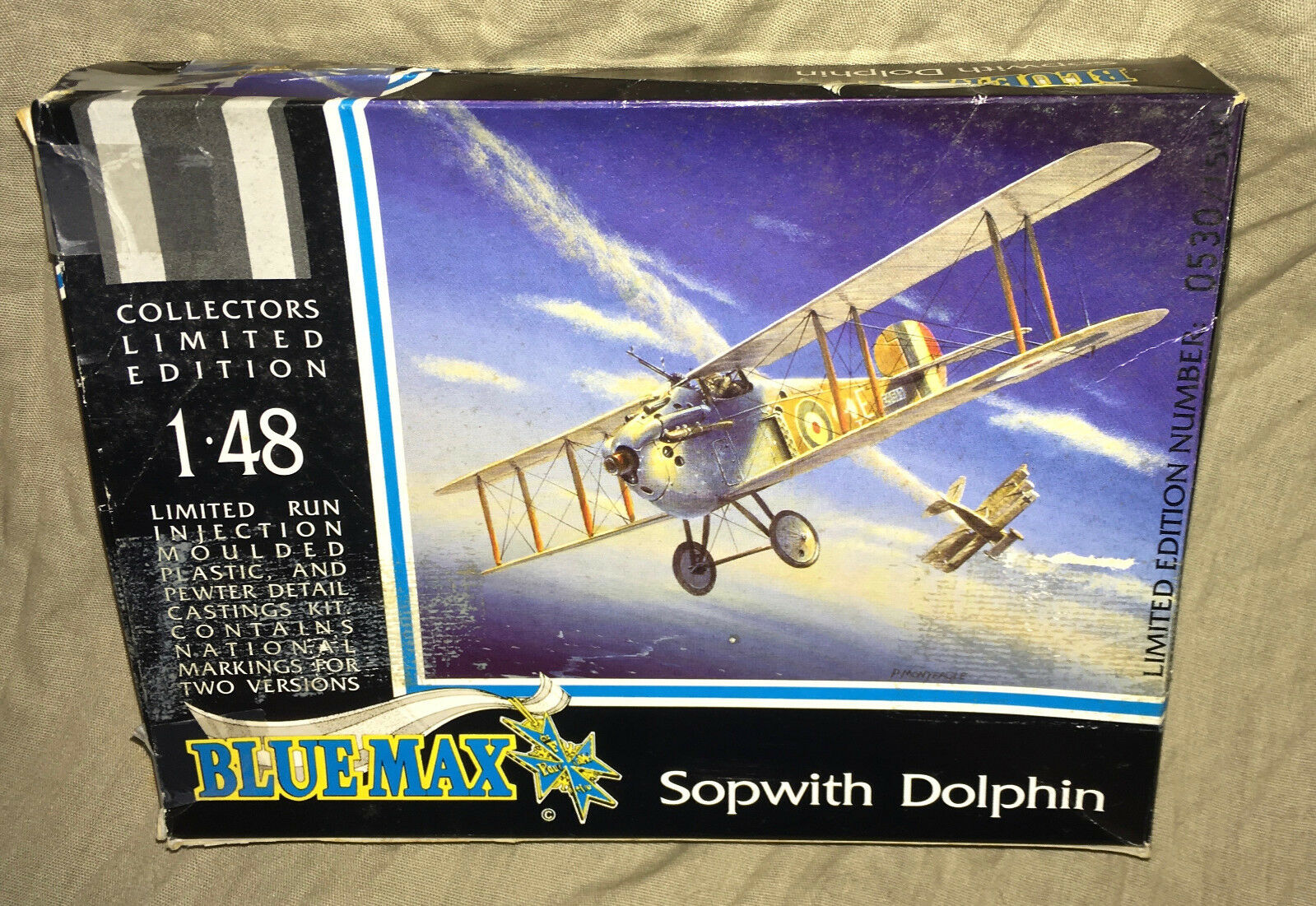 1 48  bluee Max   Pegasus Models Limited Edition Sopwith 5F.1 Dolphin