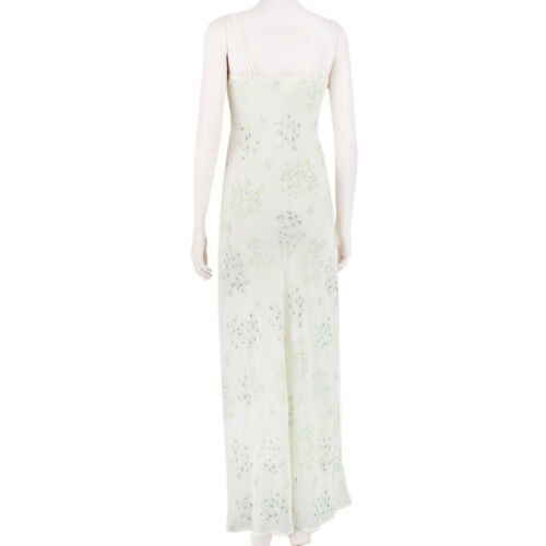 Maxi Dress Uk6 Floral Of 0 manica Ivory lunga Outsiders Green Band Eq6OWnBaB