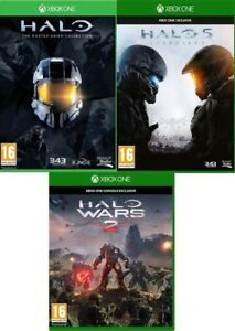 Halo-Xbox-one-Assorted-Buy-1-or-Both-MINT-Super-Fast-Delivery