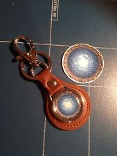 Stargate 'SG1' Active Wormhole Leather Keyrings & Phone Sticker