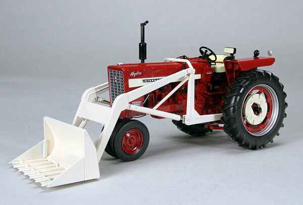 Farmall 544 Gas Narrow Granja Tractor Cochegador Frontal De Juguete SPEC-CAST ZJD-1701 Nuevo