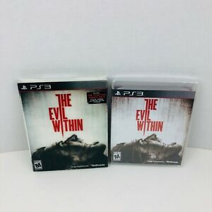Evil-Within-Sony-PlayStation-3-PS3-Video-Game-New-And-Sealed-With-Slipcover