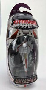 Battlestar Galactica Titanium Series CLASSIC COLONIAL VIPER Die-Cast Hasbro 2006
