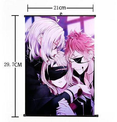 Hot Japan Anime DIABOLIK LOVERS Yui Whole Art Home Decor Poster Wall Scroll 07