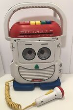 EUC Playskool Toy Story 2 Mr Mike Cassette Player Recorder Voice Changer Works!