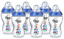 Tommee Tippee 6x 340ml Closer Nature Baby Feeding Bottle Decorated