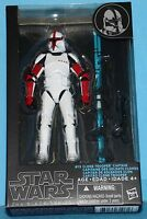 Hasbro Star Wars The Black Series Clone Trooper Captain Action Figure Toys
