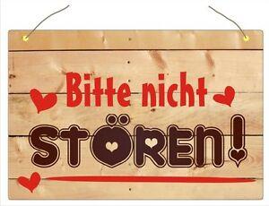 Bitte Nicht Storen Schild Wohnaccessoire Wetterfest Nr 9038 Ebay