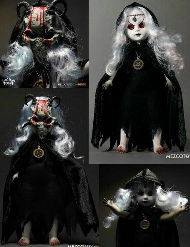 Living Dead Dolls Walpurgis resurrección Mezco 2015 San Diego Comic Con Exclusive creeepy miedo