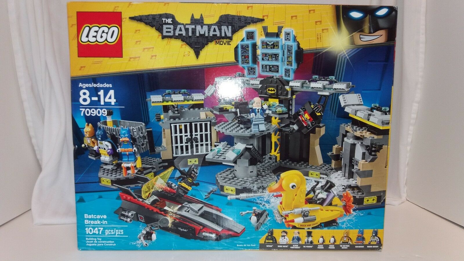 LEGO Batman Movie Batcave Break-in 2016 (70909) 1047 pcs NEW IN BOX