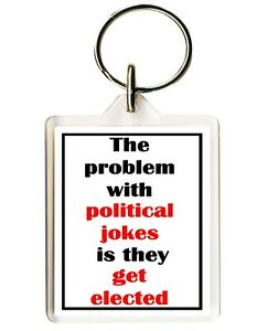 KEYRING/FOB FUNNY Key Ring  Laugh Joke Perfect Novelty Gift  BREXIT