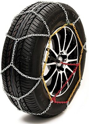 Husky Sumex Textile Winter Car Wheel Ice Frost /& Snow Chain Socks for 14 Tyres 155//65 R14