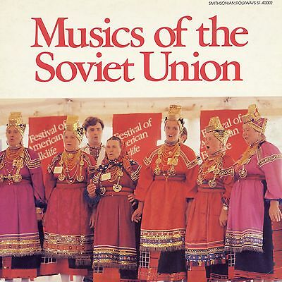 MUSIC OF THE SOVIET UNION Smithonian Folkways Records SEALED VINYL RECORD LP