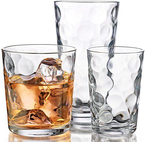NEW Galaxy Glassware 12 pc. Set FREE SHIPPING