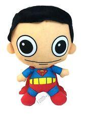 "DC Comics Justice League 12"" Cute Big Eye Small Baby Superman Plush Doll"