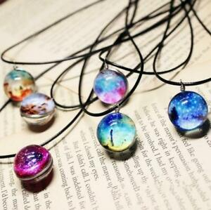 Glow-in-the-Dark-Dreamy-Starry-Stars-Glass-Galaxy-Pattern-Pendant-Necklace-Gift