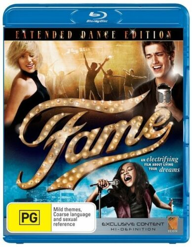 1 of 1 - Fame (2009) Extended Dance Edition - Blu Ray - Aus Region B New/Sealed