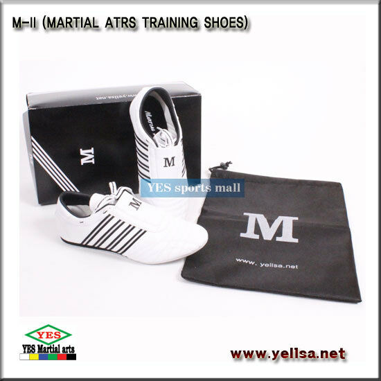 YES M-II martial arts trainning shoes taekwondo karatedo footwear  All size.  lightning delivery