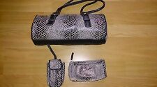 9 West Handbag, with make-up bag and phone case