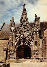 BT8084 Pont Croix le porche gotique        France