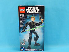 Lego Star Wars 75110 Jedi Luke Skywalker Buildable Figure 83 Pieces New Sealed