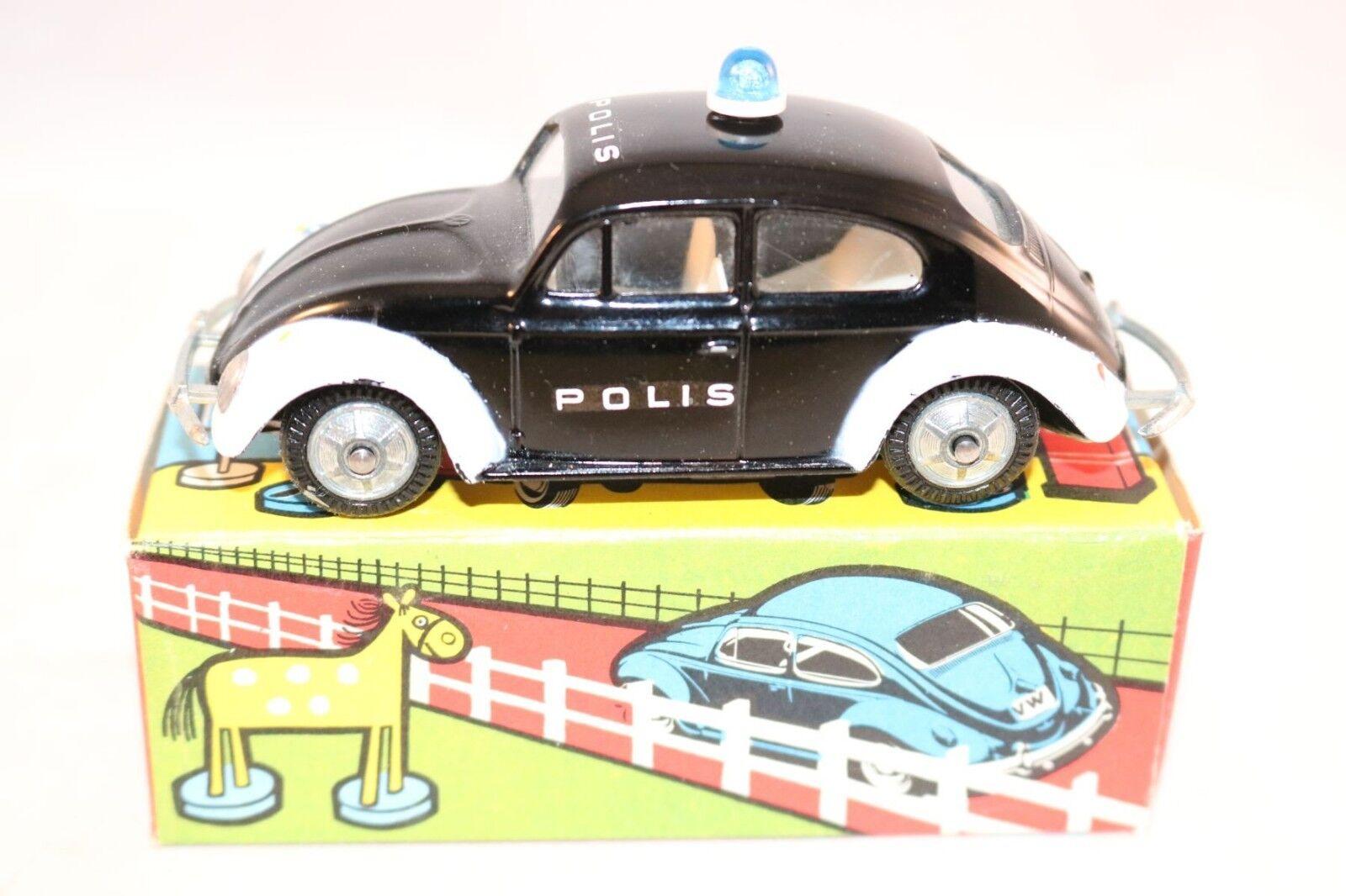 Tekno Denmark 819 Volkswagen Kafer Beetle  Polis  very near mint in box Superb