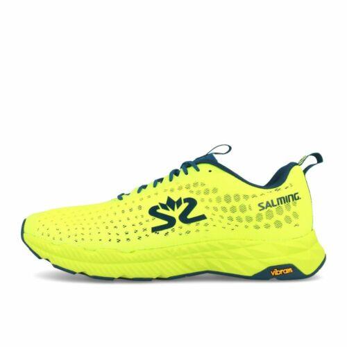 Salming Greyhound Shoe Men Yellow Blue Laufschuhe Gelb Blau