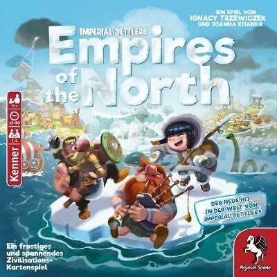 Pegasus Spiel EMPIRES OF THE NORTH DEUTSCH OVP IMPERIAL SETTLERS