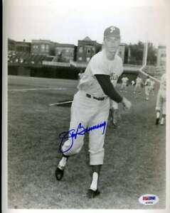 Jim Bunning Psa Dna Coa Autograph 8x10 Photo  Hand Signed Authentic