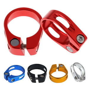 1pc aluminum alloy mountain bicycle 31.8mm//34.9mm seat post seatpost clamp SU