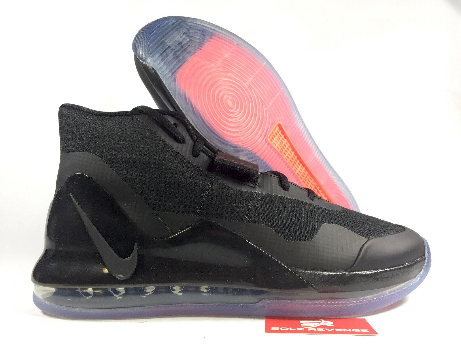 New  NIKE AIR FORCE MAX MEN'S 0974003 Black Bright Crimson Anthracite shoes c1