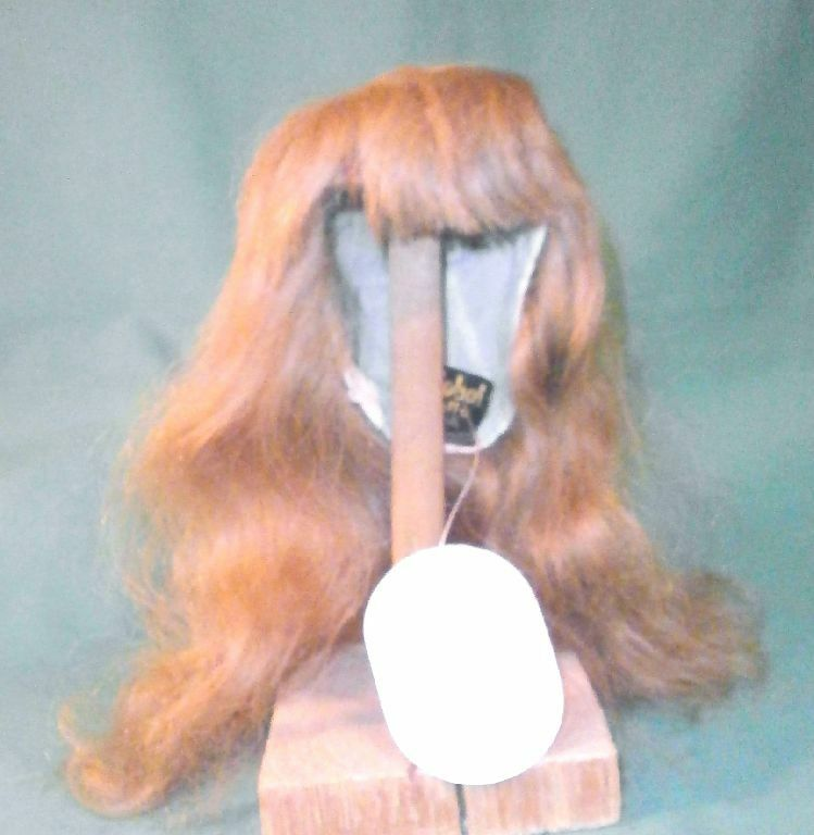 Doll wig wig wig  human hair 11  to 12  blond long hair Global Dolls Dunja a14bc4