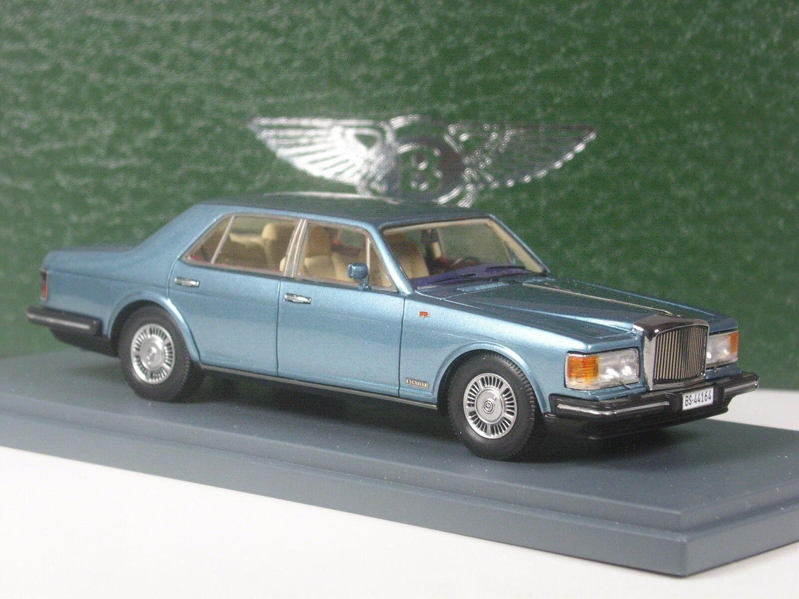 Klasse  Neo Scale Models Bentley Mulsanne blaumetallic 1 43 in OVP  | Deutschland Frankfurt