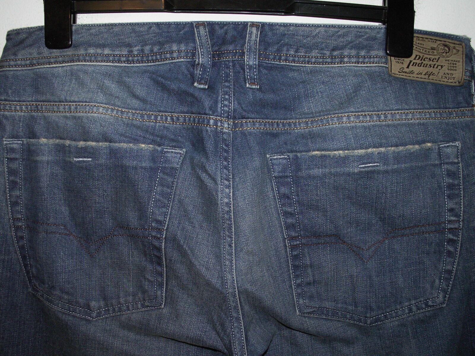 Diesel zathan Stiefelcut jeans wash 0802E W34 L34 (a4003)