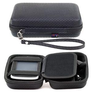 Black-Hard-Case-For-TomTom-Go-5000-500-Via-135-m-125-Start-25-m-XXL-5-039-039-Sat-Nav