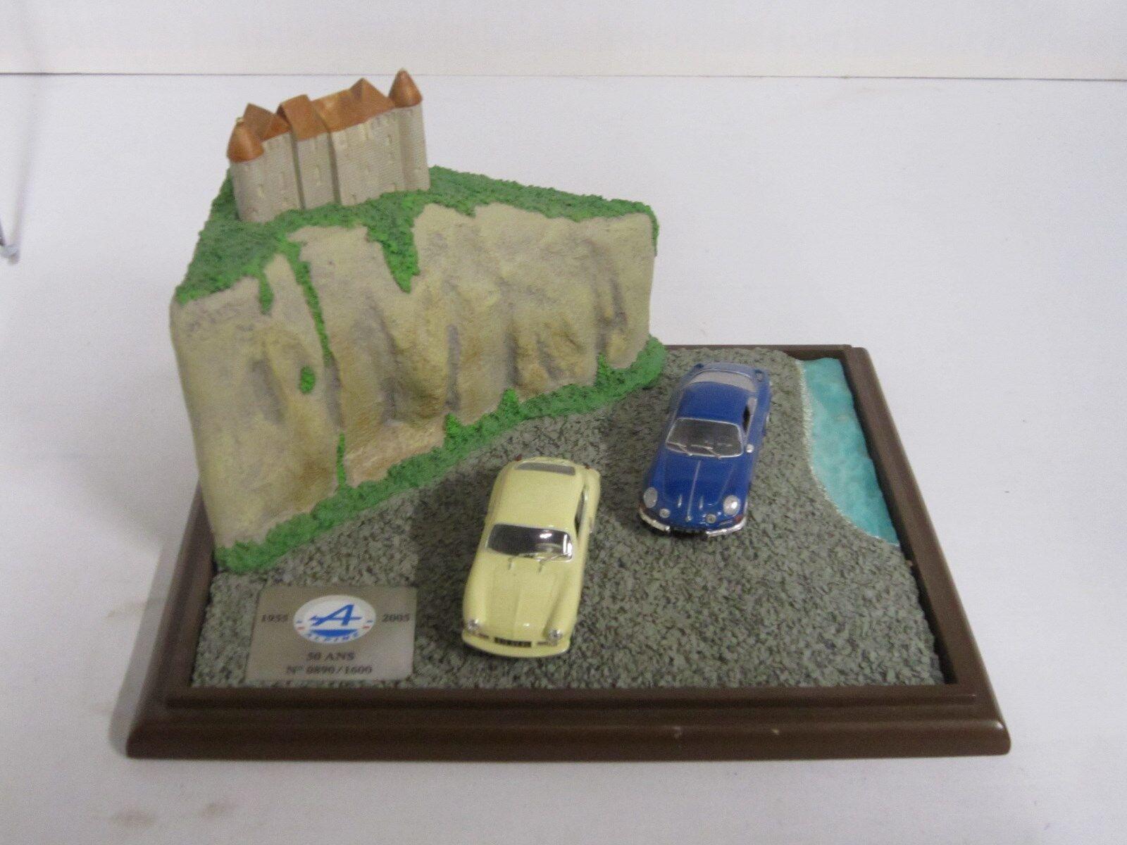Ae378 - universal hobbys diorama alpine renault anniversaire usine dieppe 1   43