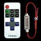 12V RF Wireless Remote Switch Controller Dimmer for Mini LED Strip Light New EA