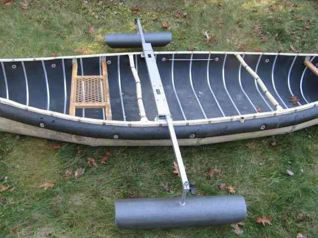 Canoe Stabilizers -  Pontoons on Outriggers to Prevent Capsizing - Be Safe - 40""
